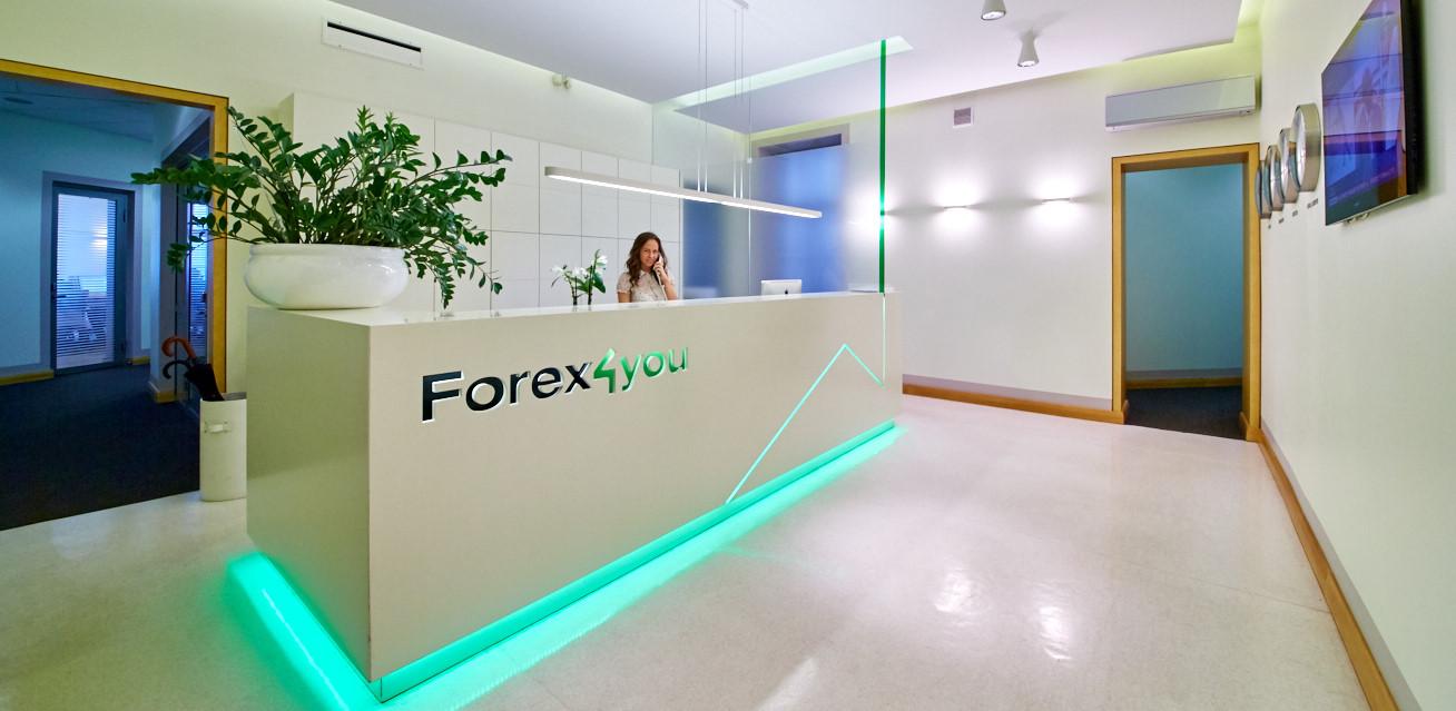 Брокер Forex4you сайт