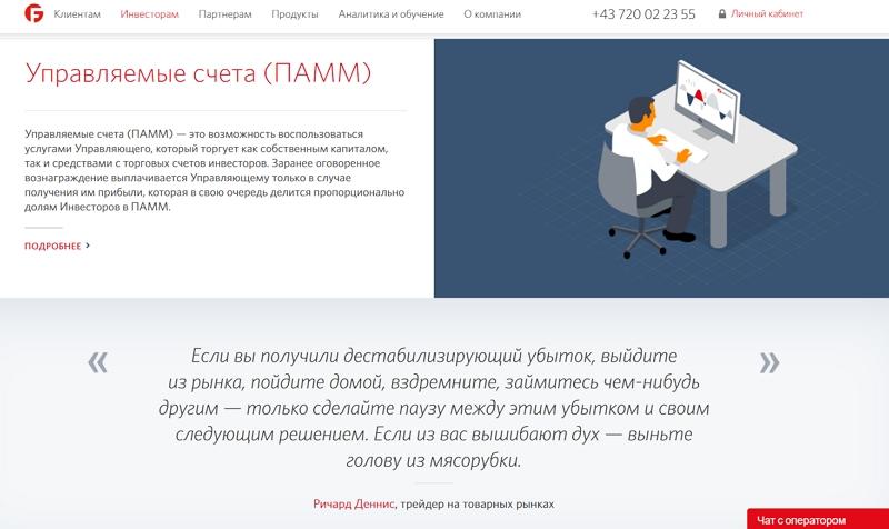 Fibo Group LTD - сайт